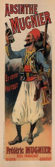 Absinthe Mugnier-Lucien Lefevre-Art Print