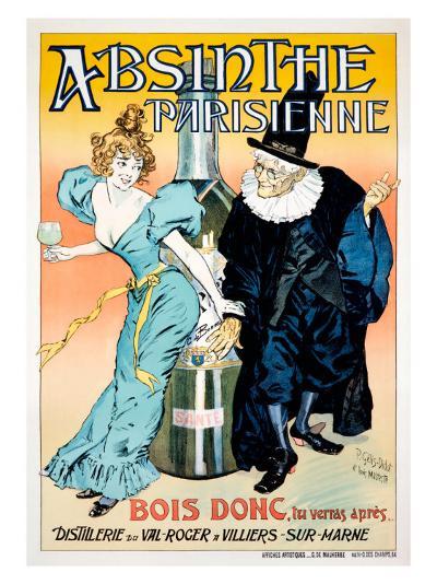 Absinthe Parisienne--Giclee Print