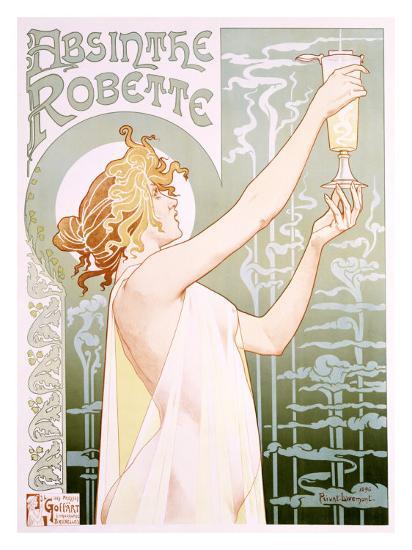 Absinthe Robette-Privat Livemont-Giclee Print