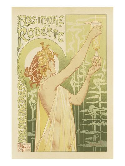 Absinthe Robette-Privat Livemont-Art Print