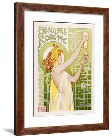 """/""""Absinthe Robette/"""" Classic 1896 Art Nouveau Poster Henri Privat Livemont 24x32"""