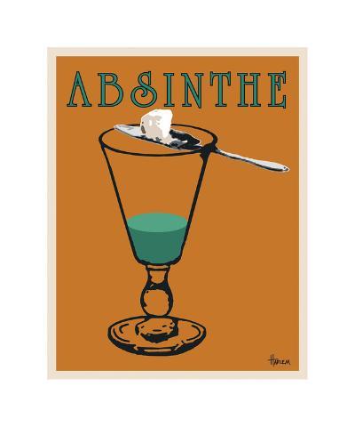 Absinthe-Lee Harlem-Giclee Print