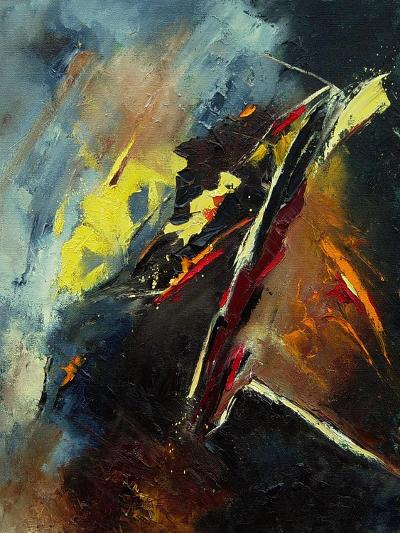Abstract 03062-Pol Ledent-Art Print