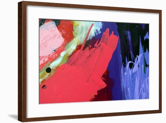 Abstract 10-Sara Hayward-Framed Giclee Print