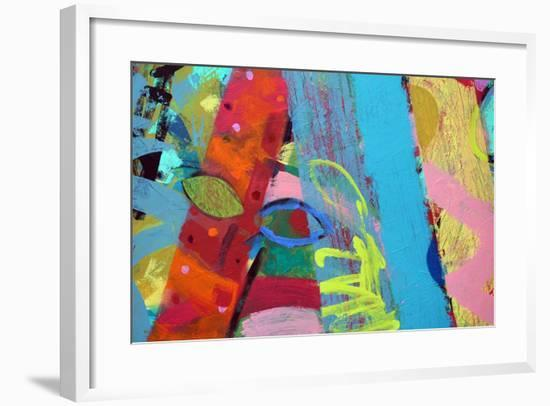 Abstract 1-Sara Hayward-Framed Giclee Print