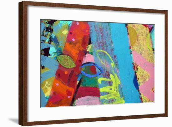 Abstract 1-Sara Hayward-Framed Giclee Print