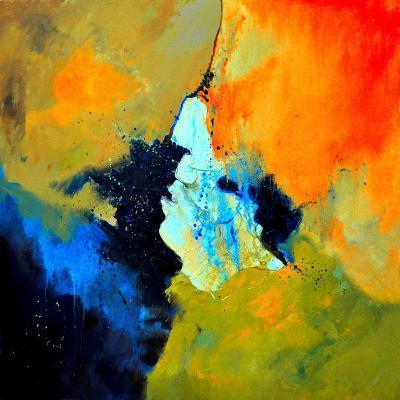 Abstract 211102-Pol Ledent-Art Print