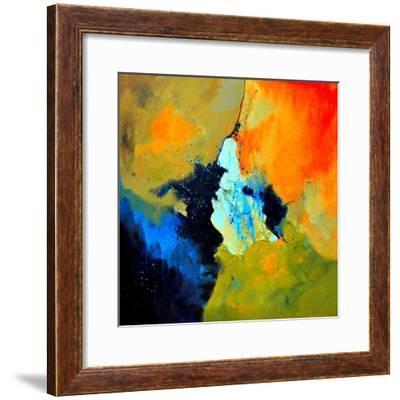 Abstract 211102-Pol Ledent-Framed Art Print