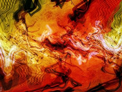Abstract 21-Shiroki Kimaneka-Giclee Print