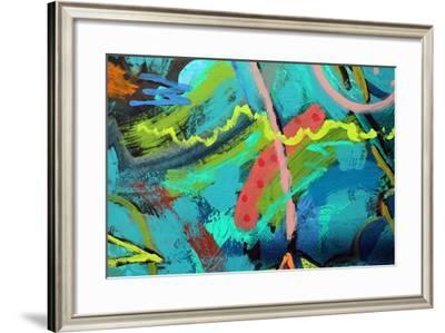 Abstract 21-Sara Hayward-Framed Giclee Print