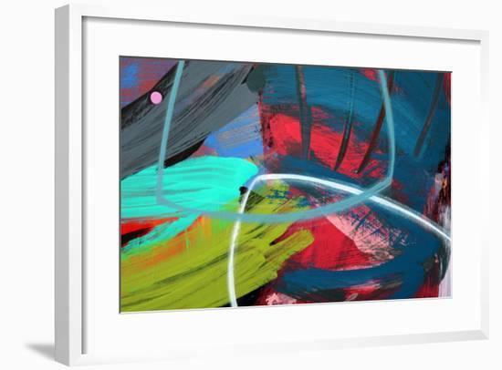 Abstract 56-Sara Hayward-Framed Giclee Print