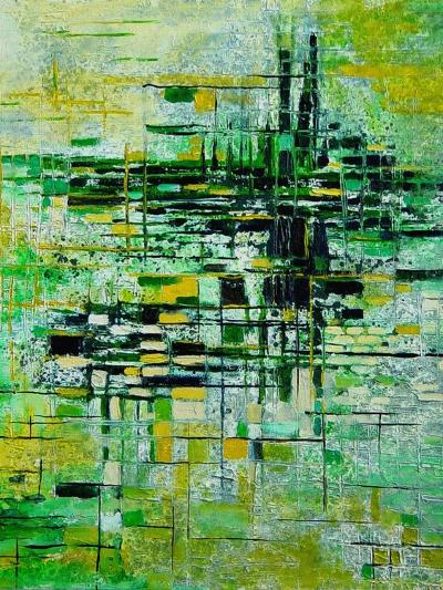 Abstract 5-Pol Ledent-Art Print
