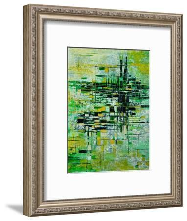 Abstract 5-Pol Ledent-Framed Art Print