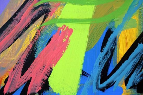 Abstract 62-Sara Hayward-Giclee Print