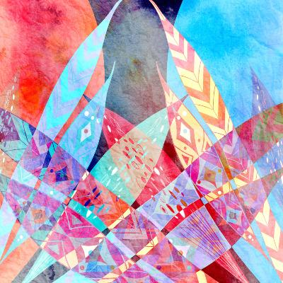 Abstract a Background-tanor27-Art Print