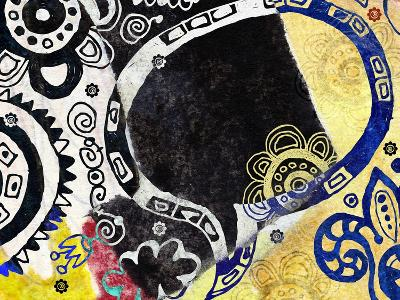 Abstract Background, Color Painted Graffiti-Andriy Zholudyev-Art Print
