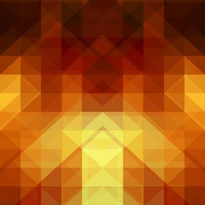 Abstract Background from Triangle Shapes-KsanaGraphica-Art Print