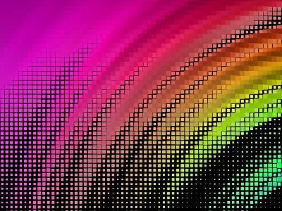 Abstract Background, Vector without Gradient- Gala-Art Print