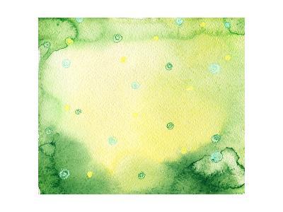 Abstract Background-Anna Ismagilova-Art Print