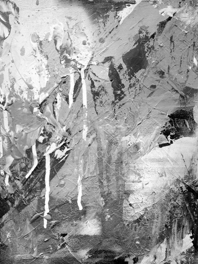 Abstract Black And White Ink Painting On Grunge Paper Texture Artistic Stylish Background Art Print By Run4it Art Com