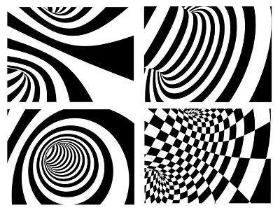 Abstract - Black And White-frenta-Art Print