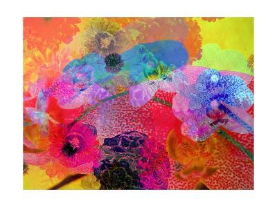 Abstract Blossoms XL Color No 1-Alaya Gadeh-Art Print