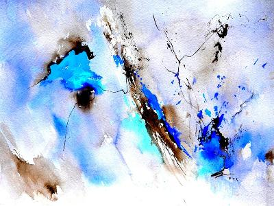 Abstract Blue 236874-Pol Ledent-Art Print