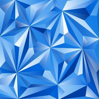 Abstract Blue Background-epic44-Art Print