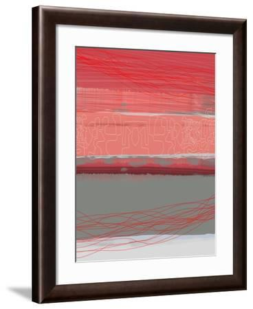 Abstract  Blue View 3-NaxArt-Framed Art Print