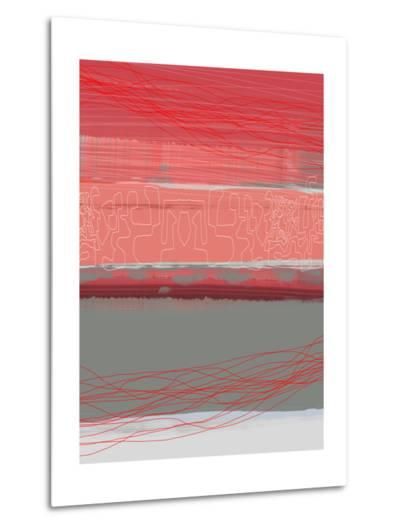 Abstract  Blue View 3-NaxArt-Metal Print