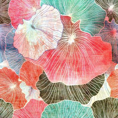 Abstract Bright Colorful Background-tanor27-Art Print
