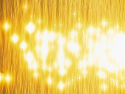 Abstract Bright Yellow Background with Sparks--Photographic Print