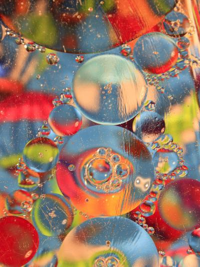 Abstract Bubbles and Colors, Savannah, Georgia, USA-Joanne Wells-Photographic Print