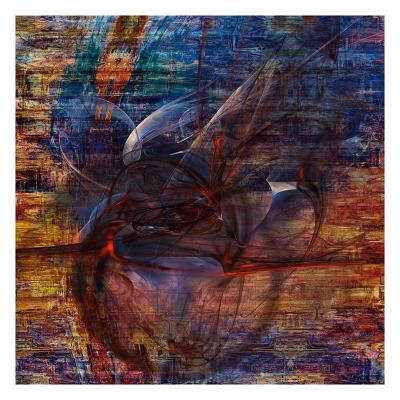 Abstract bubbles-Jean-Fran?ois Dupuis-Art Print