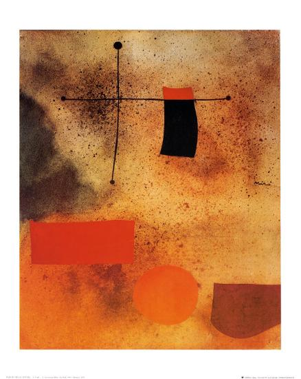 Abstract, c.1935-Joan Miro-Art Print