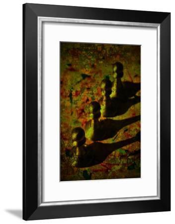 Abstract Chess II-Jean-François Dupuis-Framed Art Print