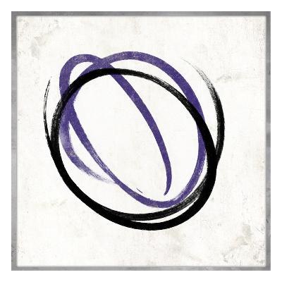 Abstract circle purple-Jace Grey-Art Print