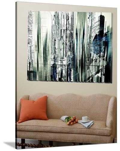 Abstract City Scene II-Jean-Fran?ois Dupuis-Loft Art