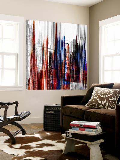 Abstract City Scene V-Jean-Fran?ois Dupuis-Loft Art