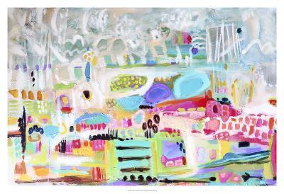 Abstract Clouds-Karen  Fields-Art Print