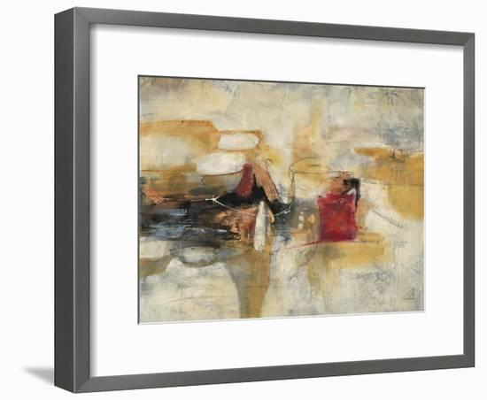 Abstract Cocktail Party 2-Gabriela Villarreal-Framed Art Print