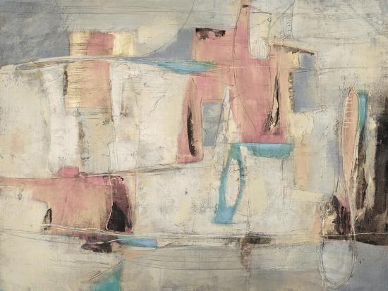 Abstract Cocktail Party 4 - Pastel-Gabriela Villarreal-Art Print
