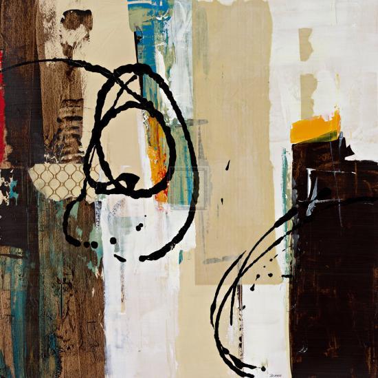 Abstract Collage III-Bridges-Art Print