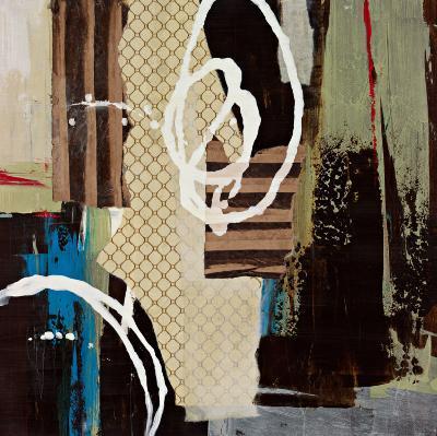 Abstract Collage IV-Bridges-Art Print