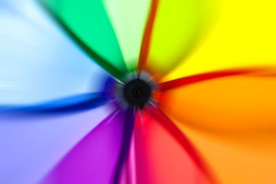 Abstract Color Wheel- surpasspro-Art Print