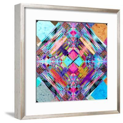 Abstract Colorful Background-Tanor-Framed Premium Giclee Print