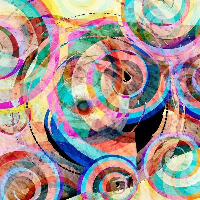 Abstract Colorful Background-Tanor-Art Print