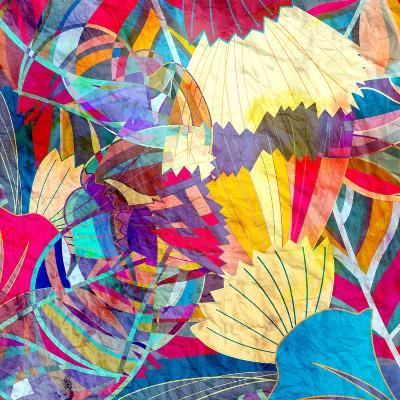 Abstract Colorful Watercolor-tanor27-Art Print