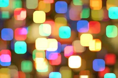 Abstract Colourful Lights- greatpapa-Art Print