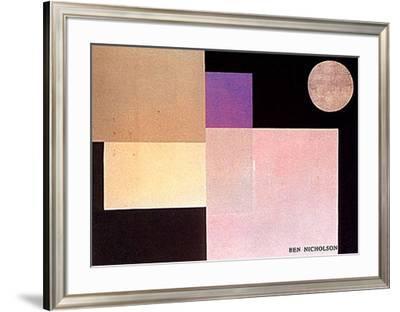 Abstract Composition-Ben Nicholson-Framed Art Print